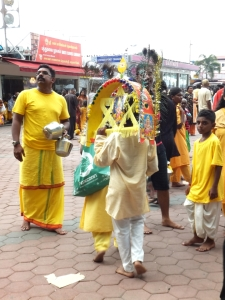 Young Kavadi bearer