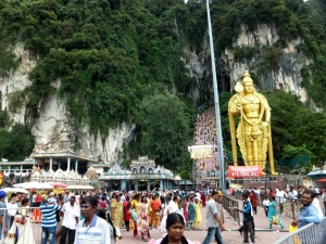 Lord Murugan and 272 steps to His Shrine