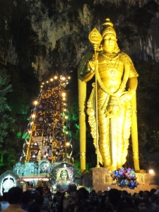 Tallest Lord Murugan Statue with Vel in his right hand